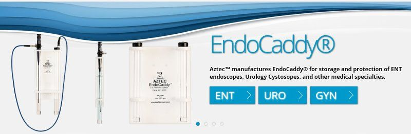 Aztec EndoCaddy endoscope storage holder